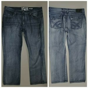 KENNETH COLE REACTION STRAIGHT 38x30 JEANS